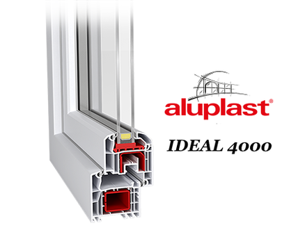 Kunststofffenster ALUPLAST IDEAL 4000 photo 2